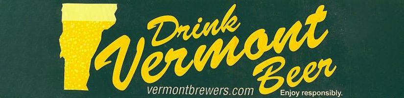 drink vermont craft beer banner