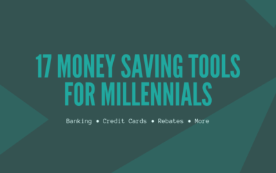 17 Money Saving Tools for Millennials